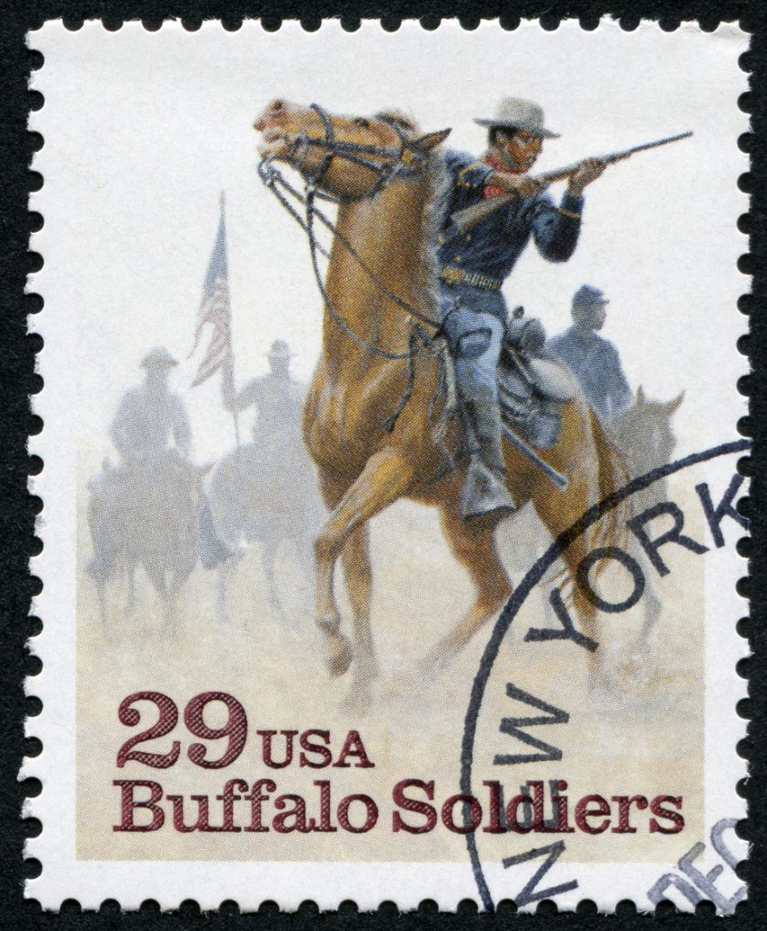 Buffalo Soldier Stamp